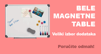 bele magnetne table